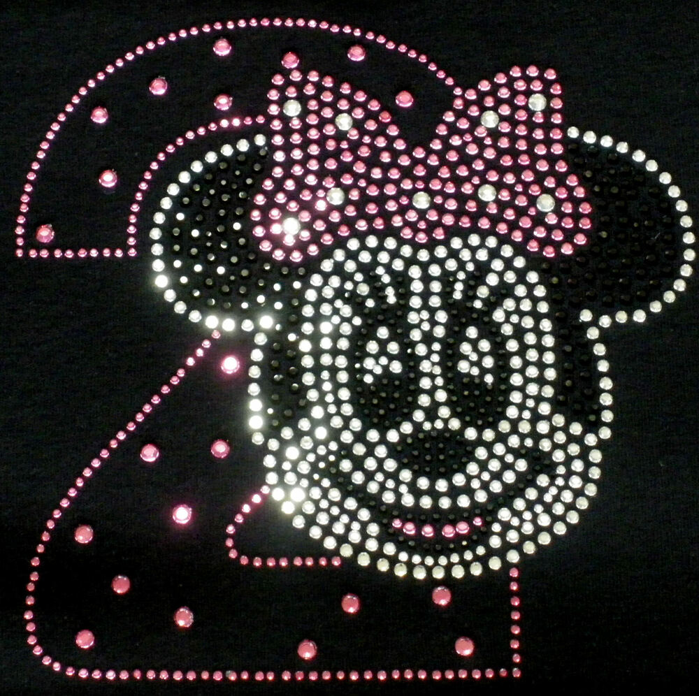 Minnie Mouse 2nd Birthday Pink/clear Iron On Disney