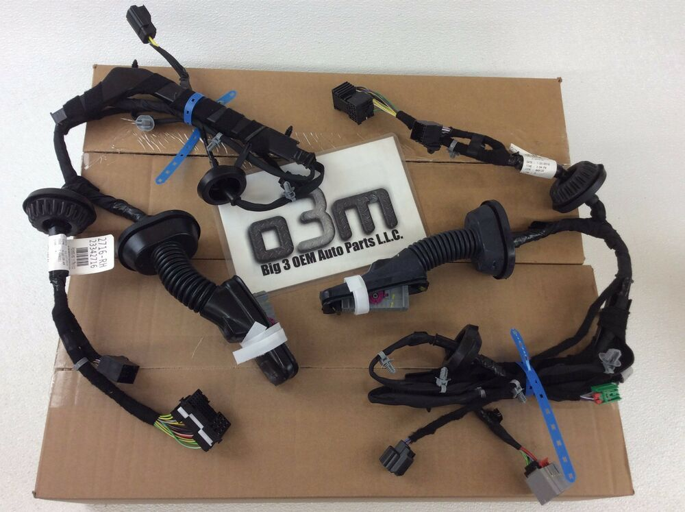 2014 2016 gmc chevrolet silverado trailer tow mirror wiring harnesses new ebay