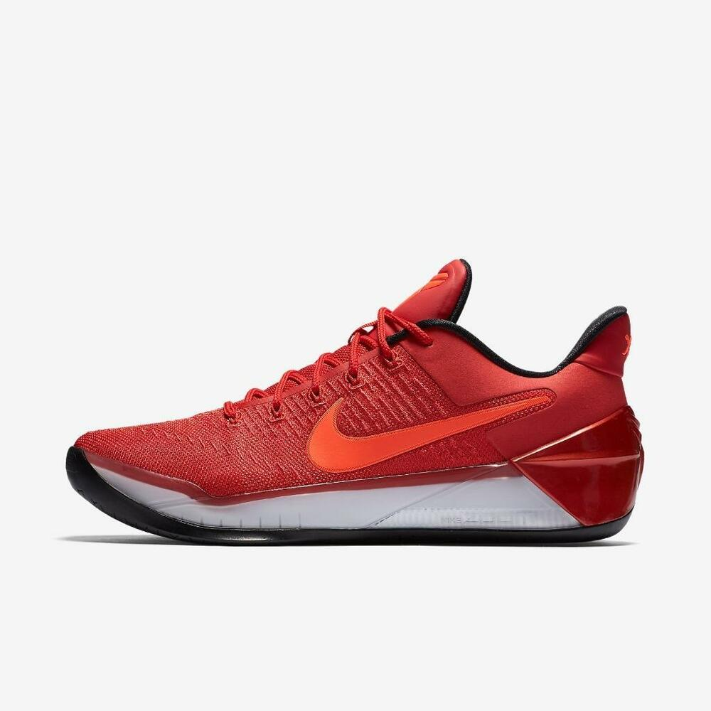 79c00cdf9d7c Details about NIKE KOBE A.D. 852425 608 UNIVERSITY RED BLACK-TOTAL  CRIMSON-WHITE - ZOOM BRYANT