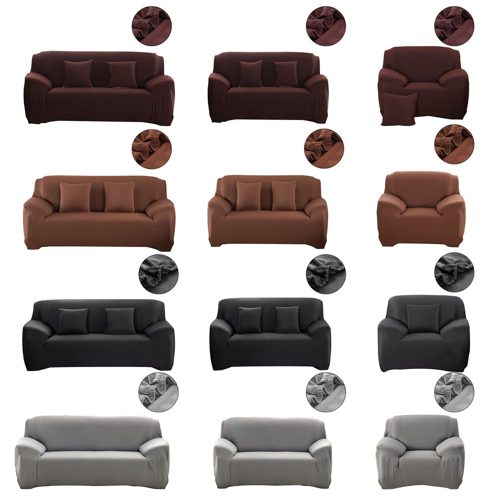 sofahusse jersey universal baumwolle sofabez ge stretchhusse sofabezug1 3 sitzer ebay. Black Bedroom Furniture Sets. Home Design Ideas