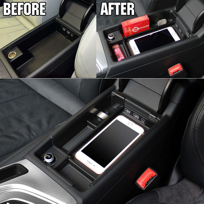 Fit For 2016 2017 Audi A4 Center Console Storage Box