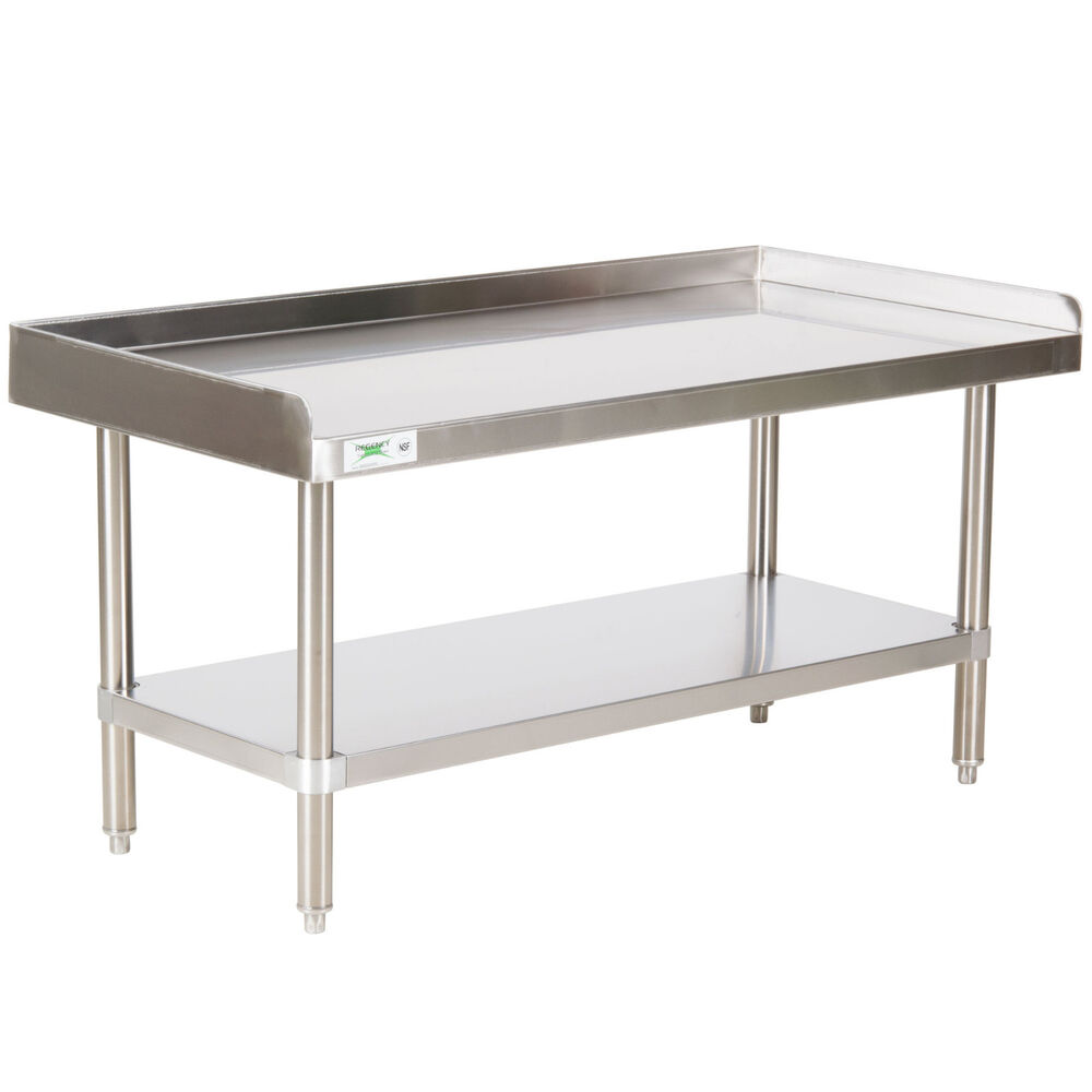 New Regency 24 Quot X 48 Quot Stainless Steel Work Prep Table