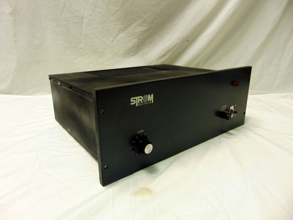 rare vintage strom 4622 150 watt audio power amplifier amp 4 16 ohm make offer ebay. Black Bedroom Furniture Sets. Home Design Ideas