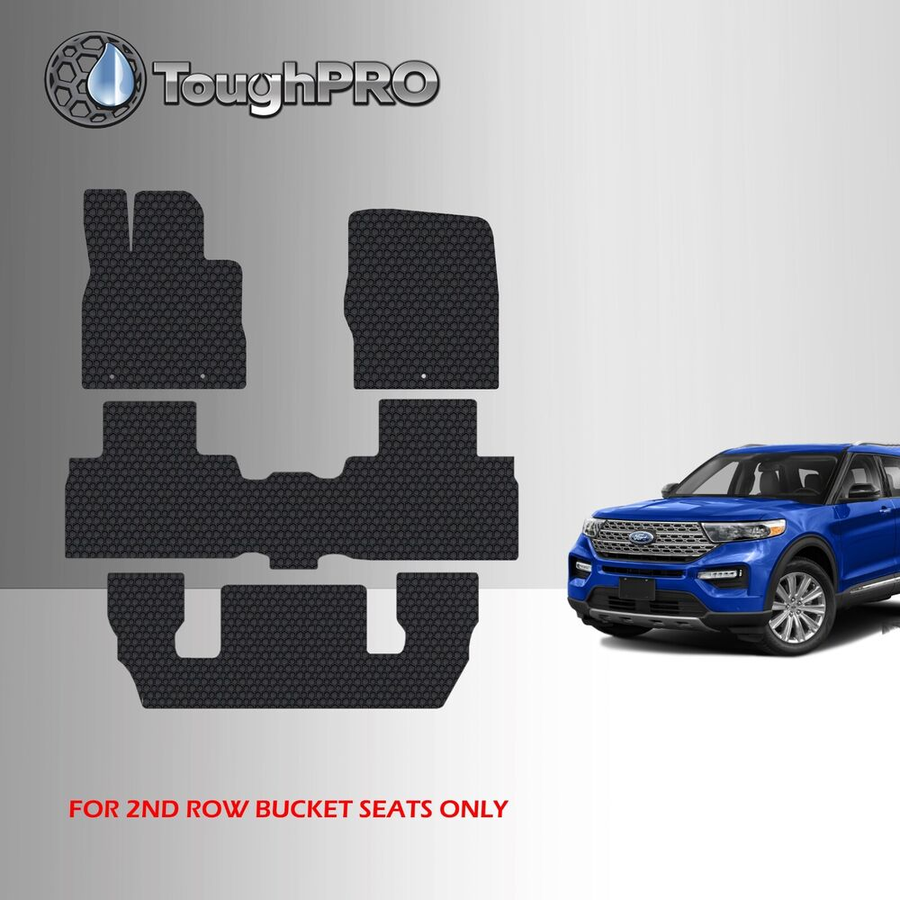 Toughpro Heavy Duty Black Rubber Mat For 2013 2019 Nissan