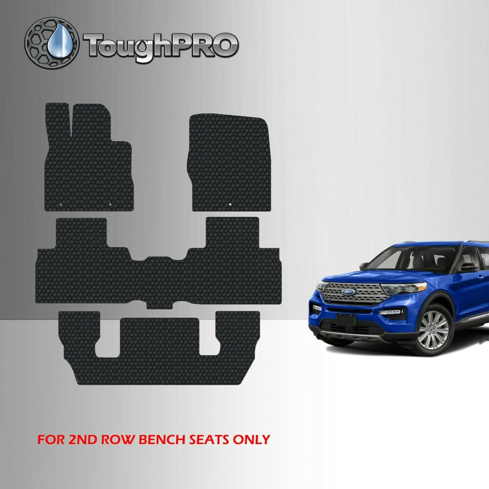 ToughPRO Heavy Duty Black Rubber Mat For 2013-2019 Nissan ...