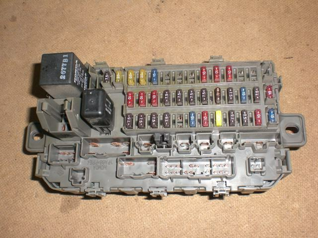 96 97 98 99 00 oem honda civic interior under dash fuse ... 96 civic cabin fuse box