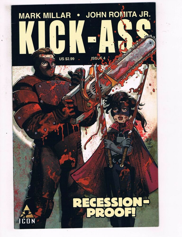 Details about Kick-Ass # 4 VF/NM 1st Print Marvel Icon Comic Book Big Daddy  Hit-Girl Movie BN2