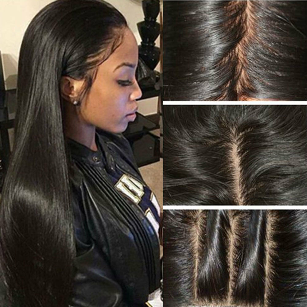 Hot Glueless Brazilian Human Hair Lace Front Wig Full Lace