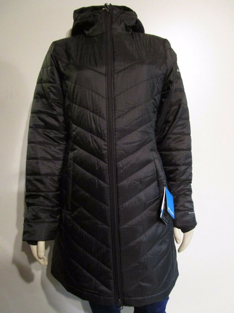 NWT Womens Columbia Morning Light II Long Hooded Insulated ...