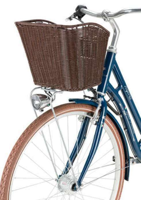 retro vintage fahrrad gep cktr ger vorderrad korb rattan. Black Bedroom Furniture Sets. Home Design Ideas