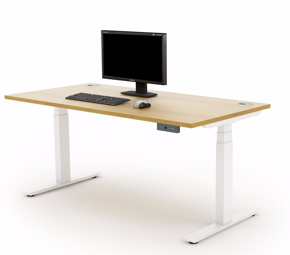 Autonomy Pro Electric Sit Stand Height Adjustable Desk Ebay