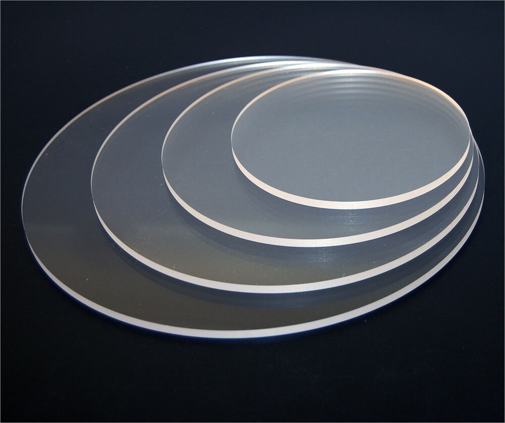 Acrylic Clear Disks Perspex Circle Diameter 100mm To