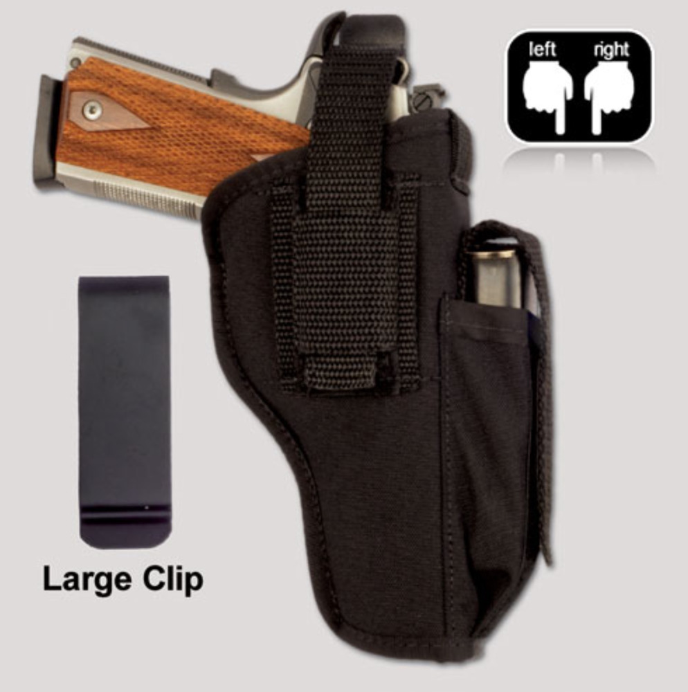 RUGER SR9C Hip Holster with Magazine Pouch Thumb Break ...