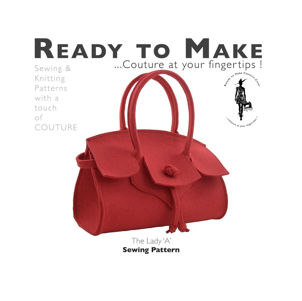 ... Bag Purse Making Handbag Sewing Pattern Easy to Sew and Make eBay