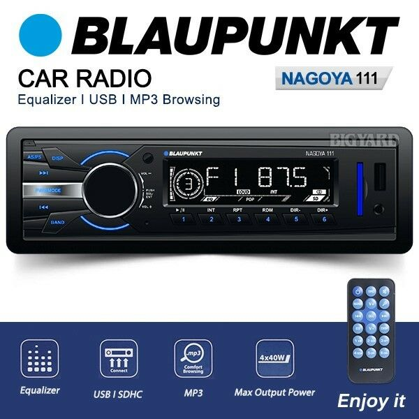 BNIB Blaupunkt Nagoya Mechless Non CD Player Car Stereo FM