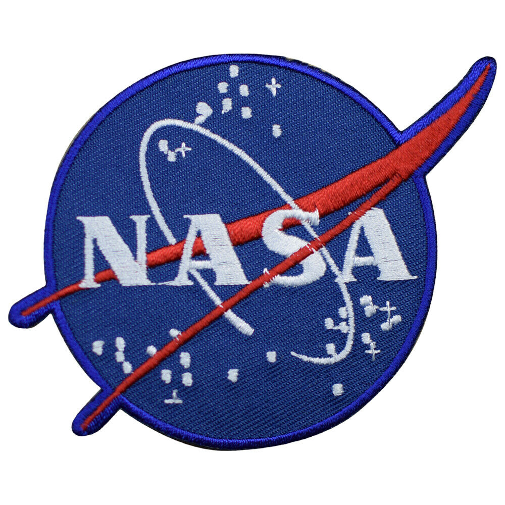 Official NASA Logo Patch National Aeronautics and Space ...