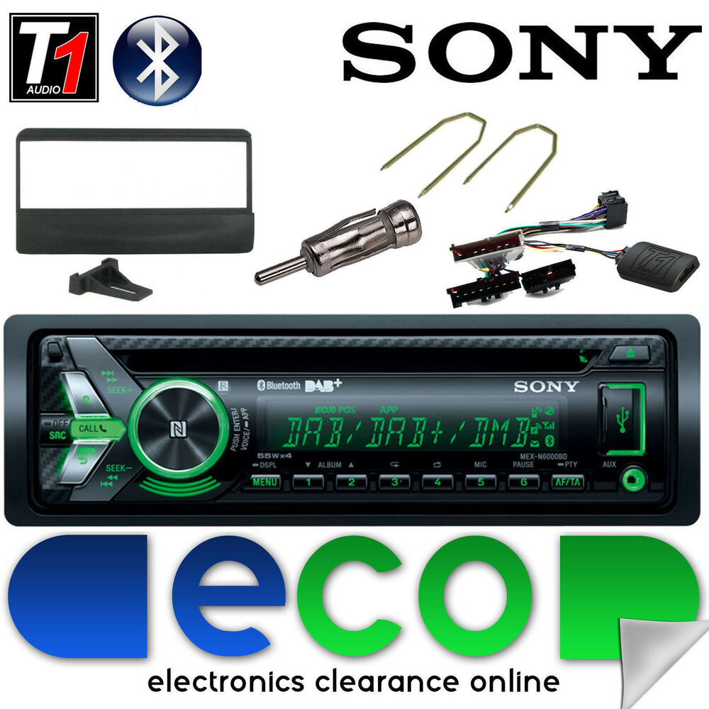 Ford Focus MK1 Sony DAB CD MP3 USB Bluetooth Car Stereo