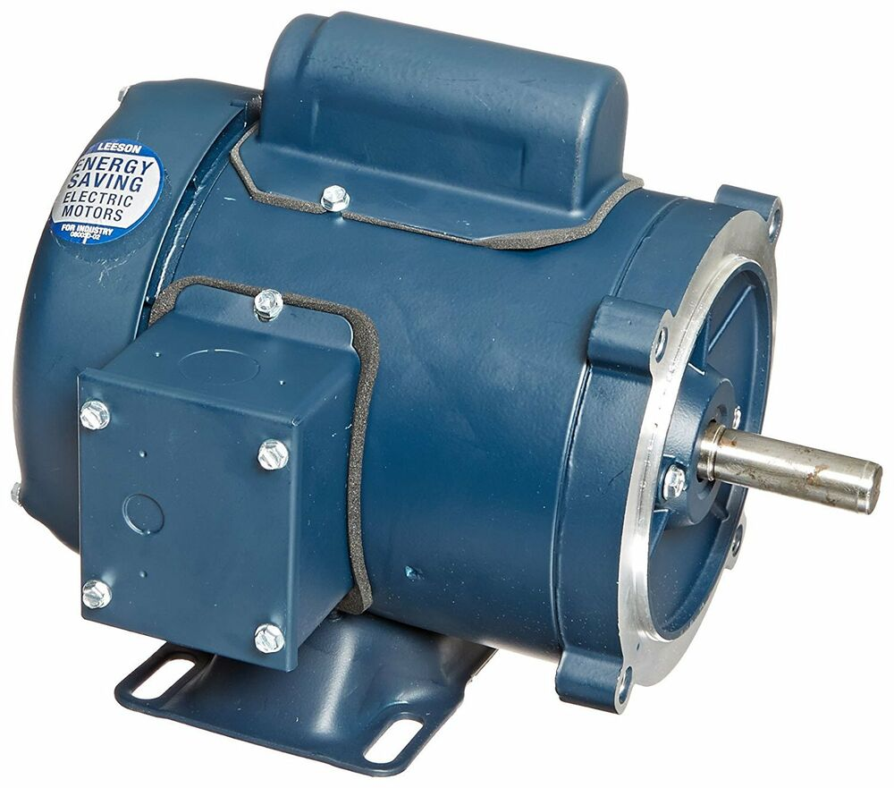 Leeson electric motor 1 3 hp 3450 rpm 1ph 115 for 1 3 hp motor