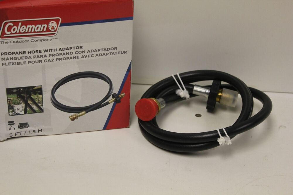 Coleman Propane Gas Hose Adapter 5 Foot Cylinder New Ebay