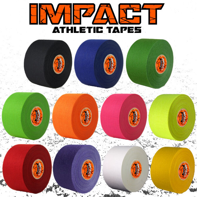 Impact Athletic Tape 1 5 X 15 Yds 50 50 Poly Cotton