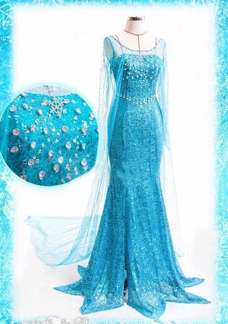 reine des neiges elsa adulte robe costume d guisement f te bleu avec perruque ebay. Black Bedroom Furniture Sets. Home Design Ideas
