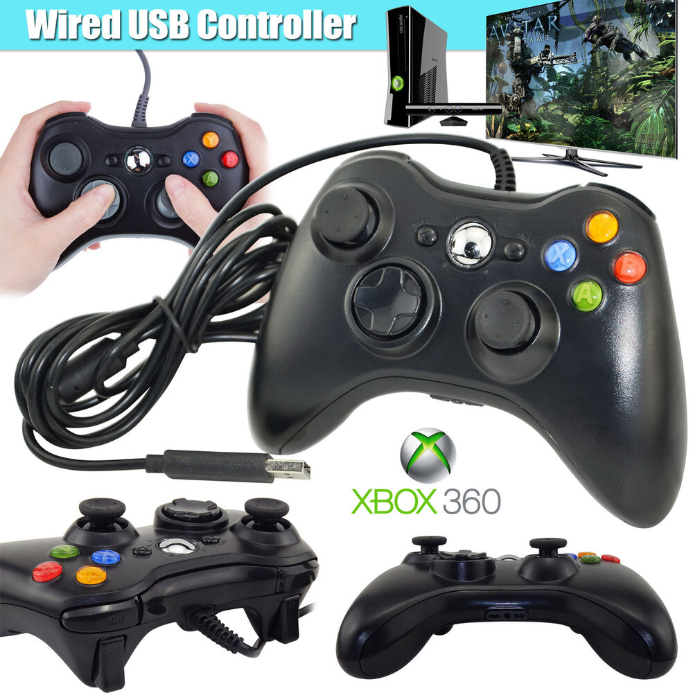 2017 new wired usb game pad controller for microsoft xbox 360 console ebay - The newest xbox 360 console ...