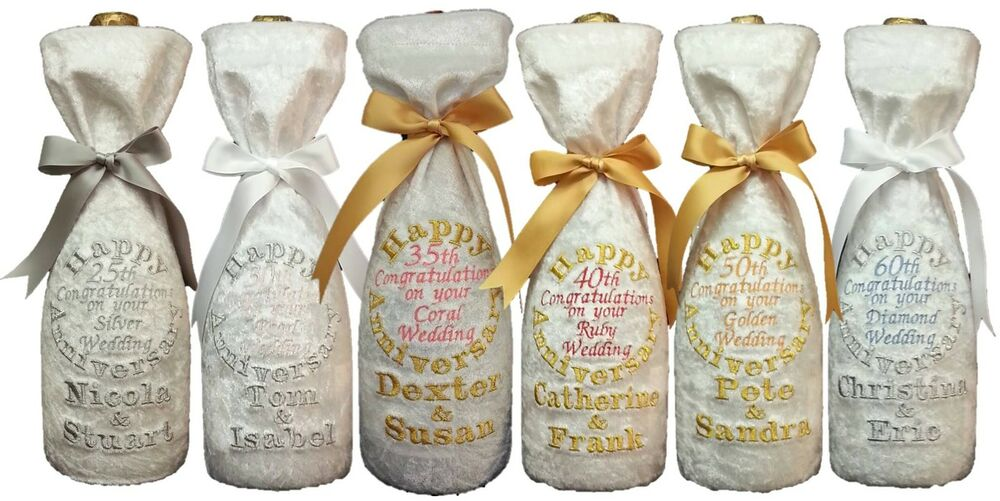 Ruby Wedding Gift Bags : ... wedding bottle gift bag Silver,Pearl,Ruby,Gold &Diamond anniversary