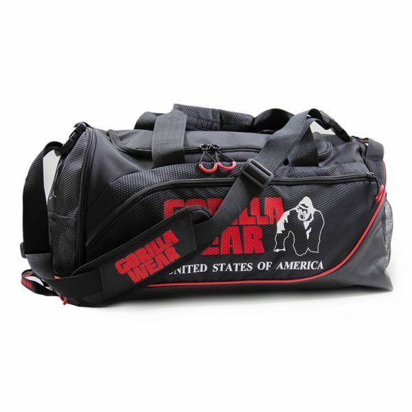 Gym Bag Gorilla Wear: Black/Red Sporttasche Tasche