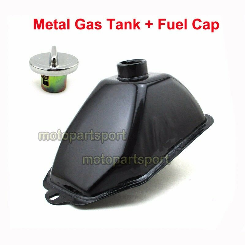 metal gas tank fuel cap for 50cc 70cc 110cc 125cc atv. Black Bedroom Furniture Sets. Home Design Ideas