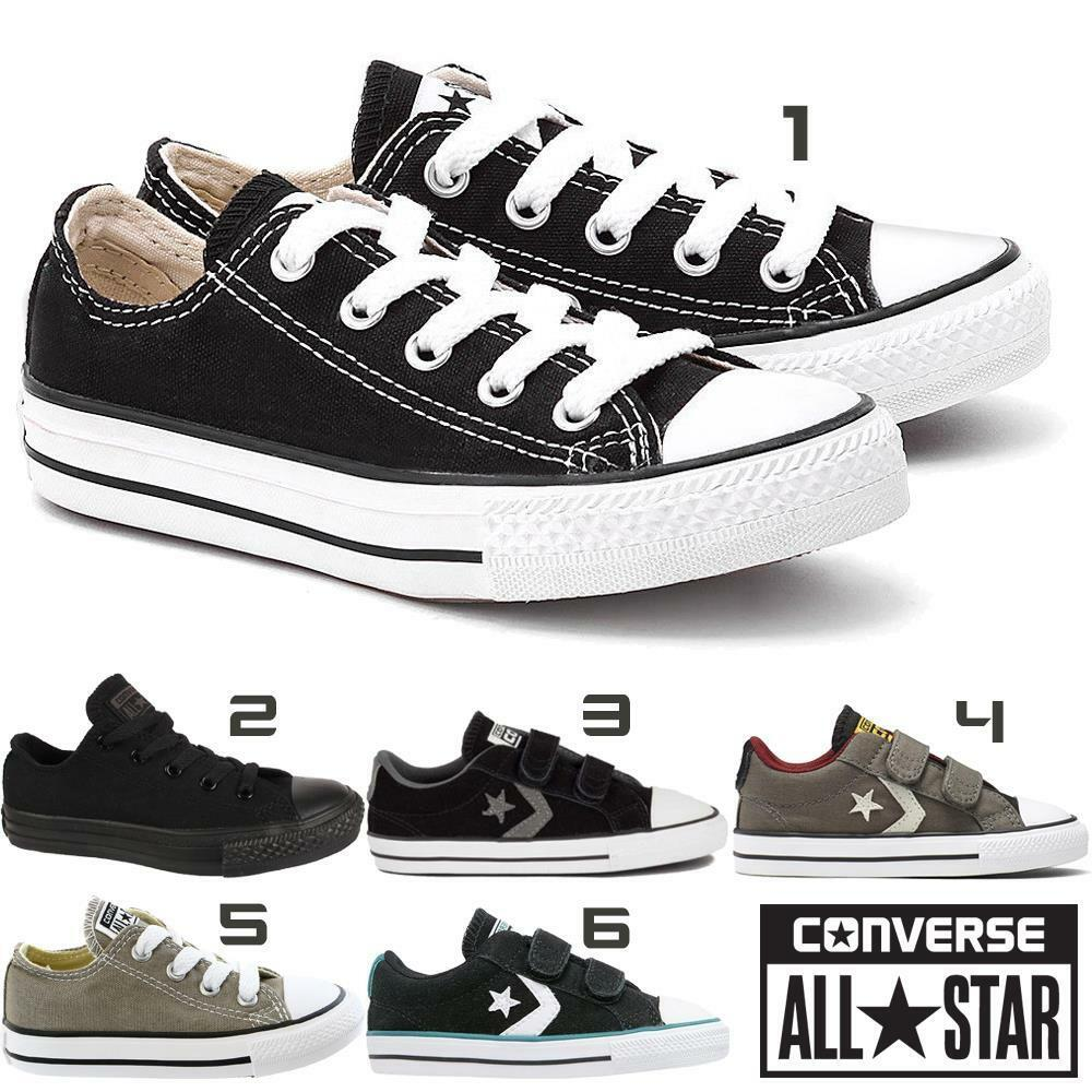 e7d2f580629f Details about New Boys Girls Kids Childrens Toddlers Infants All Star Converse  Trainers Shoes