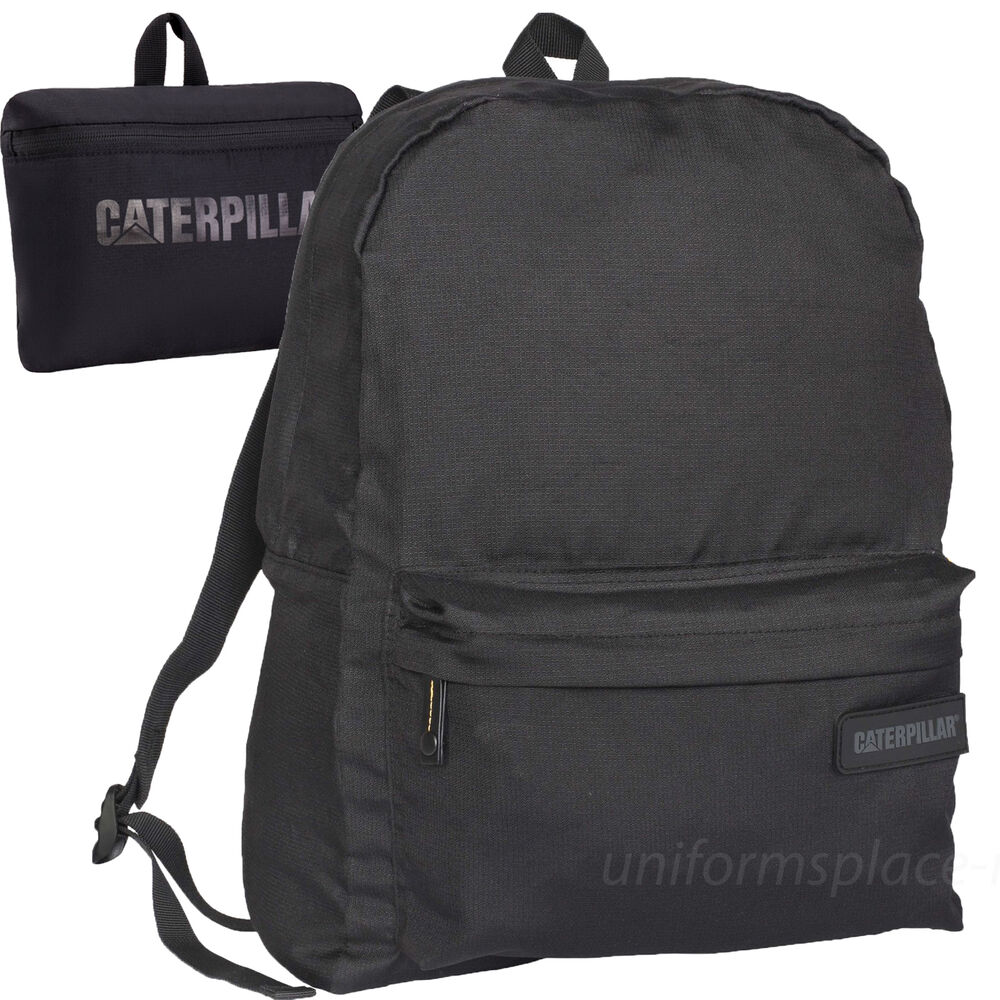 Caterpillar Backpack Lightweight Travel School Hiking Foldable Daypack Ebay