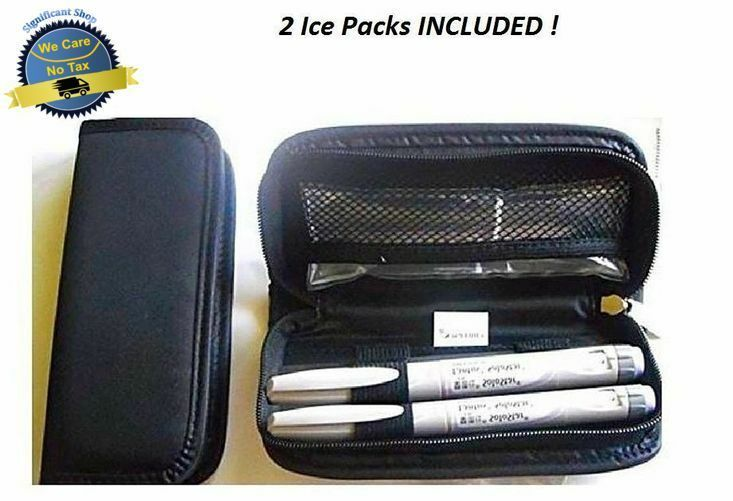 Medicine Cooling Pouch Diabetic Insulin Travel Case Cooler Pack Wallet Holder Us