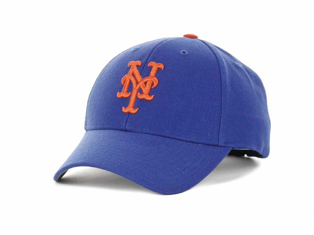 new product ad38c 0f1ce Details about New York Mets  47 MLB  47 MVP Royalblue Cap
