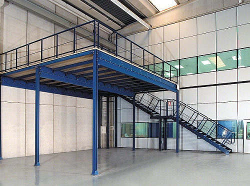 Elegant New Mezzanine Floor 11 M X 6 M With Stairs, Handrail, Pallet Gate    Installed | EBay