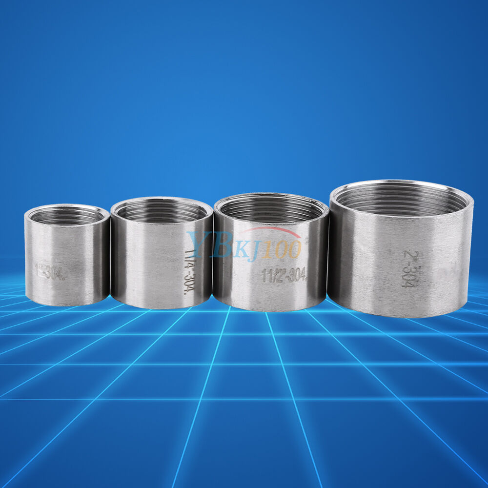 Quot female threaded pipe fittings straight coupling bsp