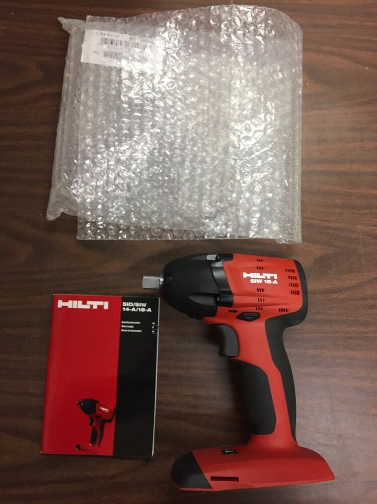 hilti siw 18 a 1 2 impact wrench tool only ebay. Black Bedroom Furniture Sets. Home Design Ideas
