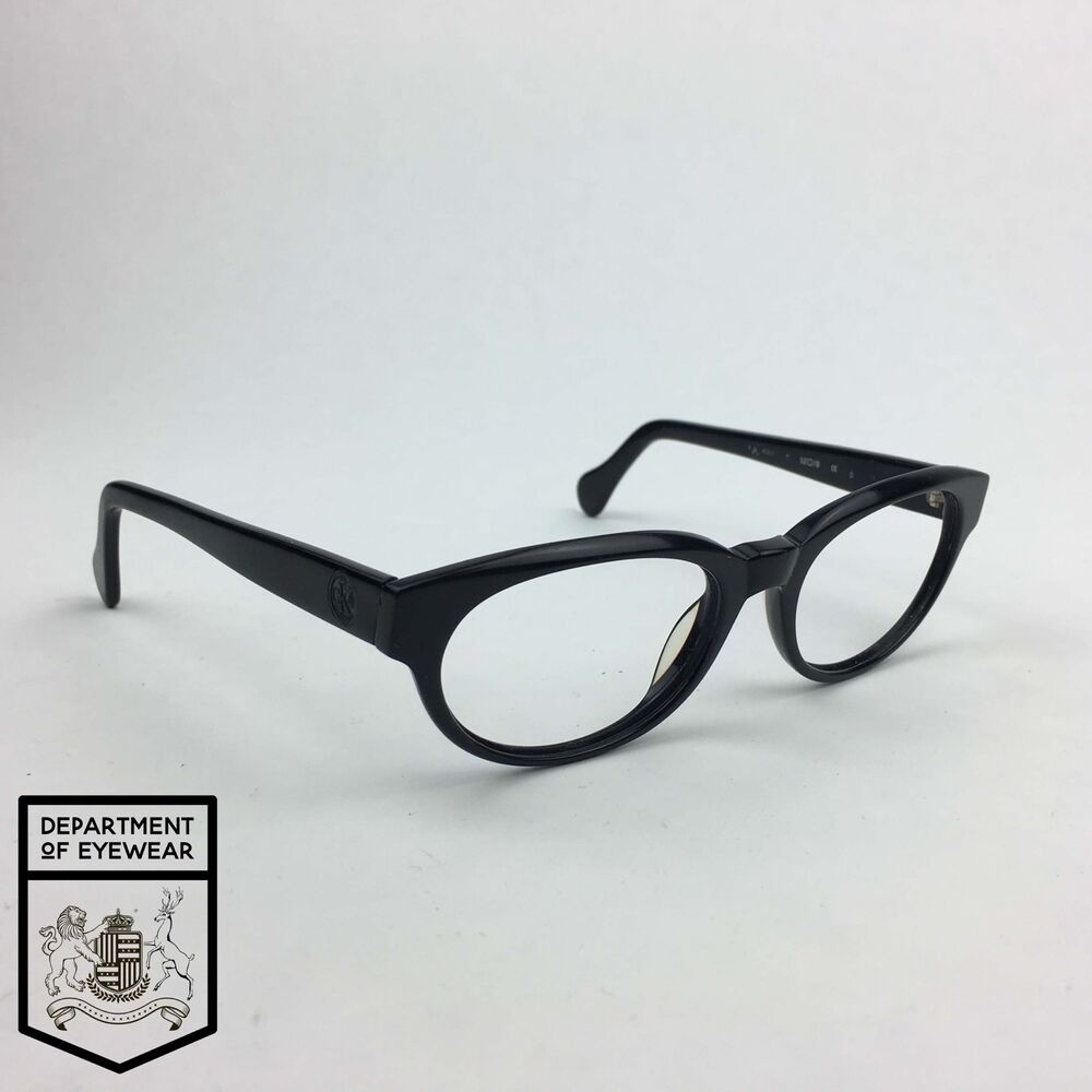 0a8fa70ada8 Details about CALVIN KLEIN RECTANGLE BLACK EYEGLASS FRAME Authentic. MOD   CK 4002