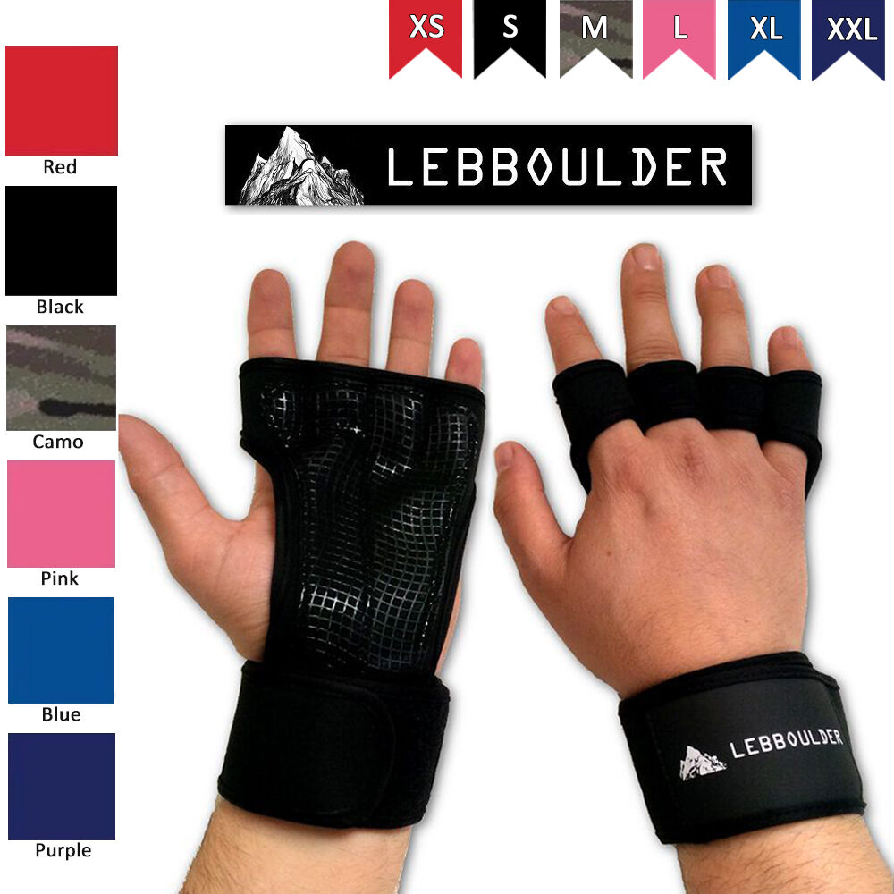 Weight Lifting Gym Gloves Training Fitness Wrist Wrap: Fitness Gloves Weight Lifting Gym Workout Training Wrist