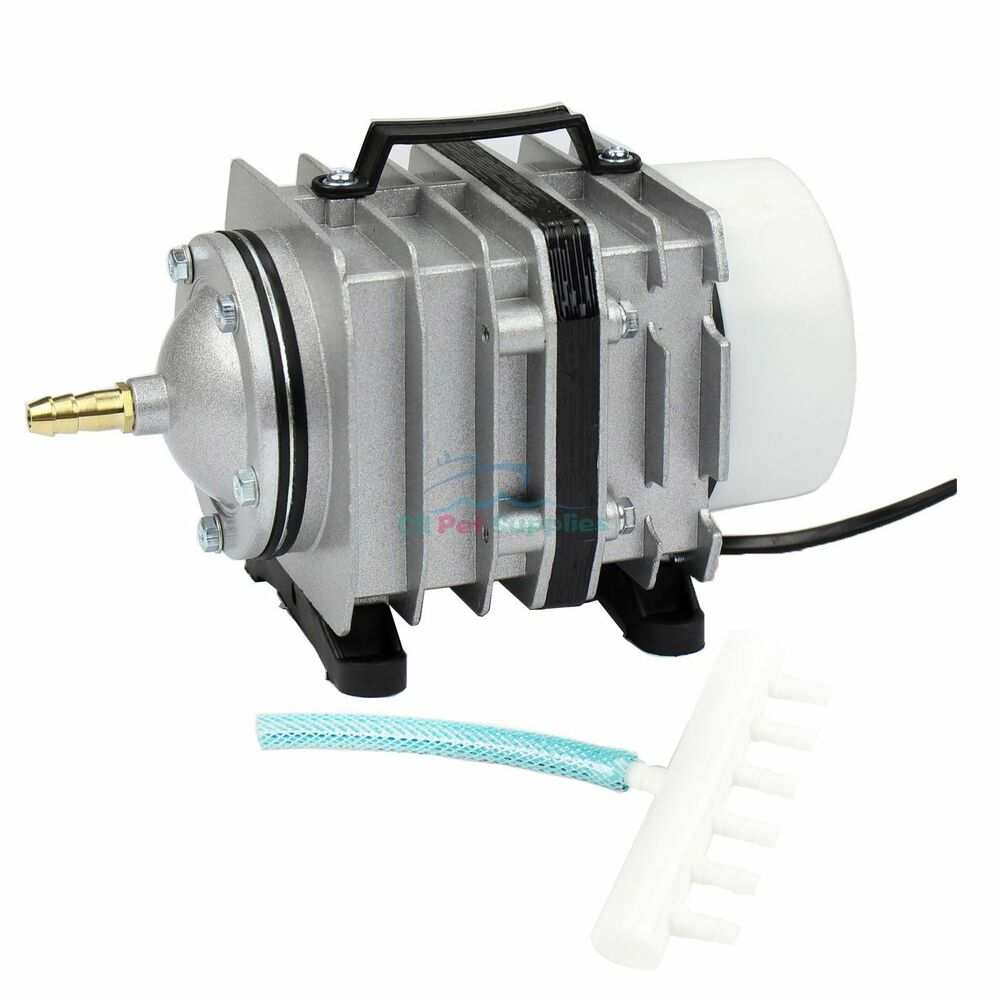 571 1746 gph o2 commercial air pump aquarium fish pond for Air pump for fish tank
