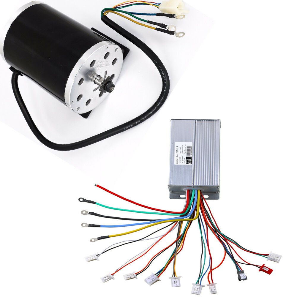 Electrical Motor Controllers : V w electric brushless motor controller box