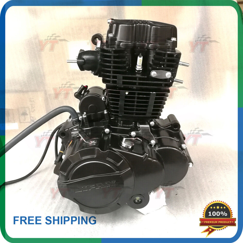 250cc Engine Lifan 250 Air Cooled Motorcycle Engine With