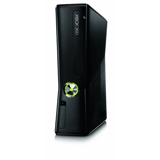 MICROSOFT XBOX 360 SLIM S 4GB GAMES CONSOLE UNIT ONLY ...