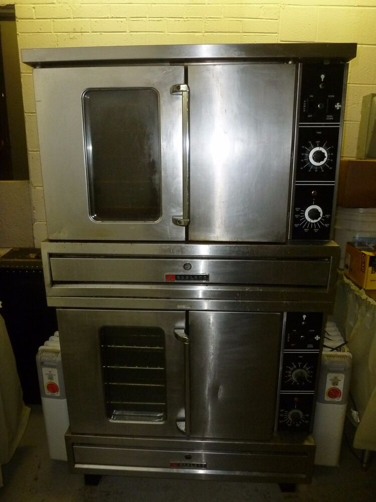 Commercial Convection Double Deck Oven 3 Phase Electric Ebay