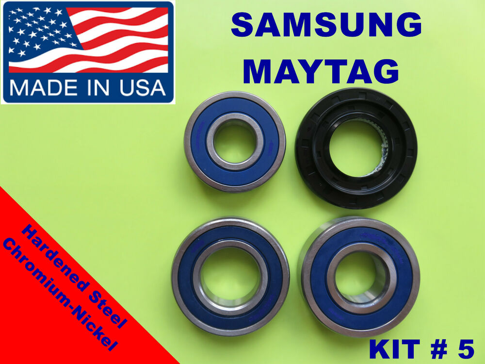 Front Load Washer 3 Tub Bearings And Seal Samsung Kit
