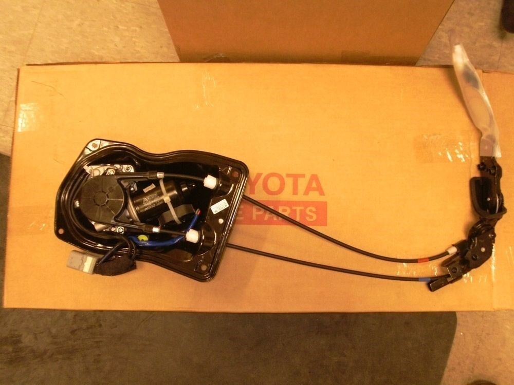 Oem Toyota Sienna Drivers Side Sliding Door Motor With Cables 85620 08052 Ebay