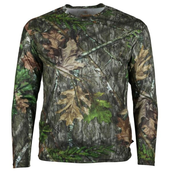 ElimiTick Wicking Long Sleeve T-shirt NWTF Mossy Oak Obsession