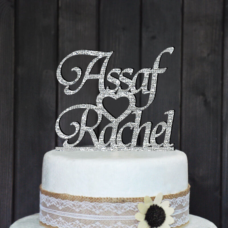 Personalized Wedding Cake Toppers With Names