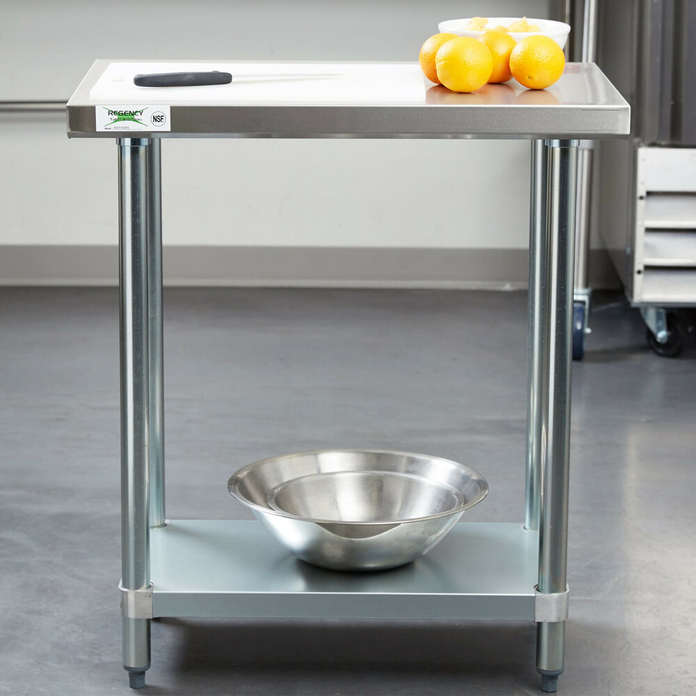 Commercial Kitchen Preparation Tables