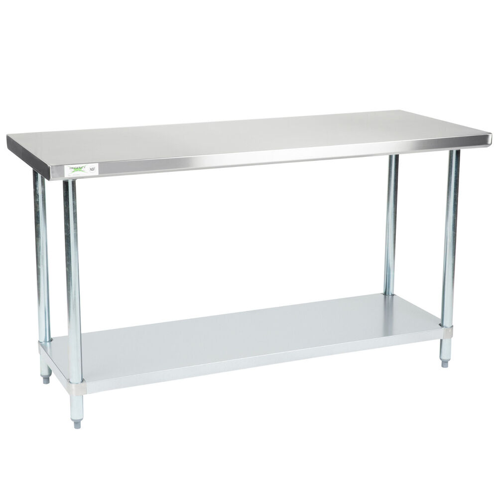 New Regency 24 Quot X 60 Quot Stainless Steel Work Prep Table