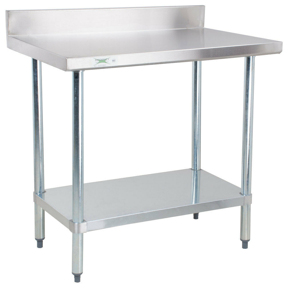24 Quot X 36 Quot Stainless Steel Work Prep Shelf Table Commercial